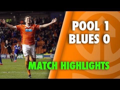 Blackpool 1-0 Birmingham  - Sky Bet Championship - Season 2014-15
