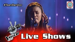 The Voice Teens Philippines Live Show: Queenie Ugdiman - Itanong Mo Sa Mga Bata