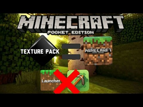 [0.14.0] how to put your texture PACK to MCPE APK (work on all version of mcpe,sub if works!)