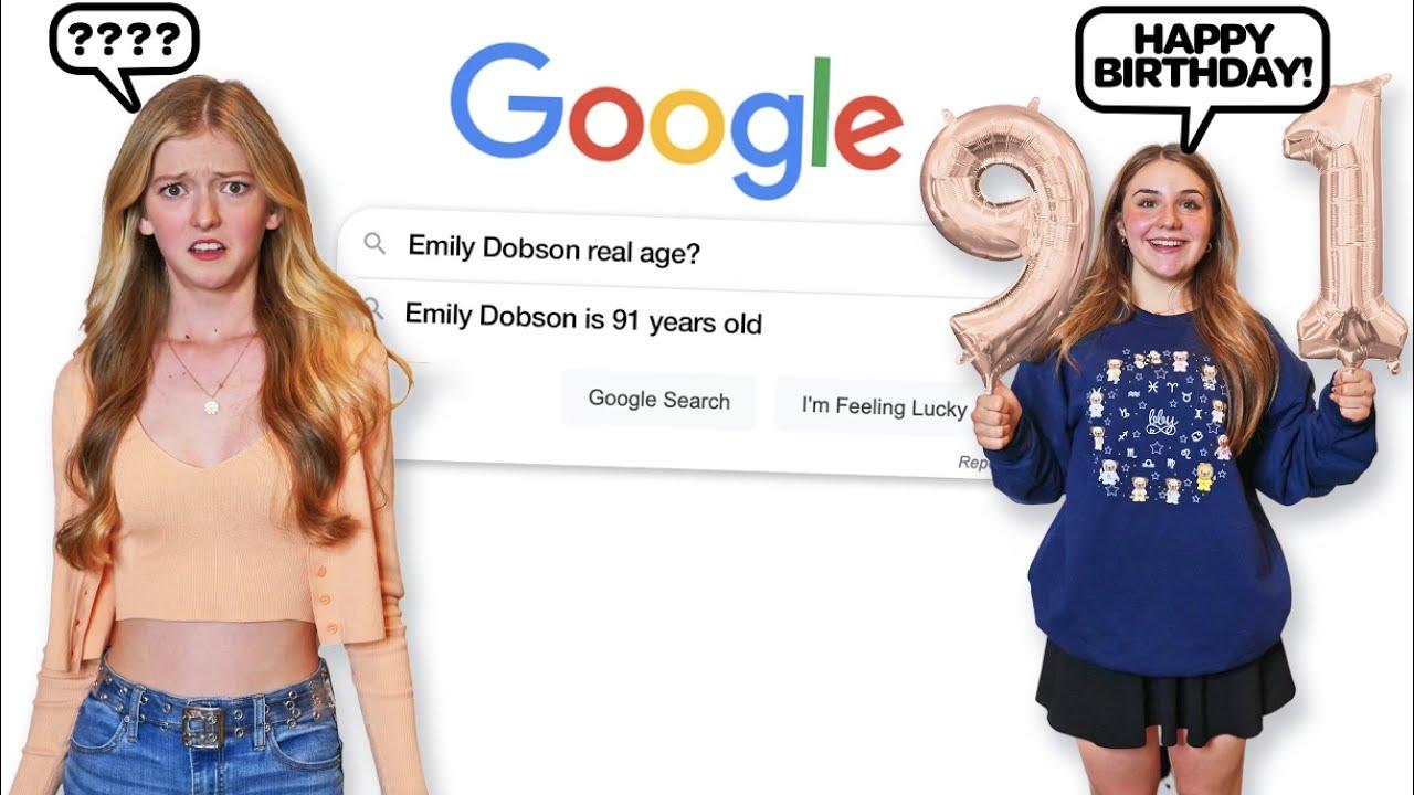 I Google Myself ...but Instantly Regret it **REACTION CHALLENGE** |Emily Dobson