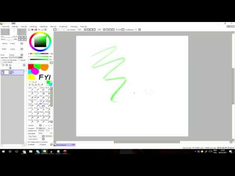 ★Como colocar Brush,Pencil,AirBrush (Ferramentas) no Paint Tool SAI