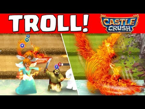 TROLLEN IN BURG 1! || CASTLE CRUSH || Let's Play Castle