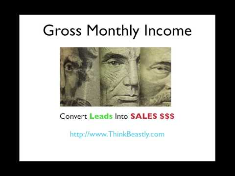 Monthly Gross Income & How to Calculate it Like it Like A Lender