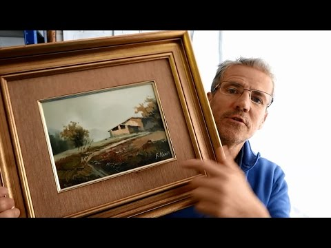 Framing Your Paintings Cheaply  Frames for watercolours