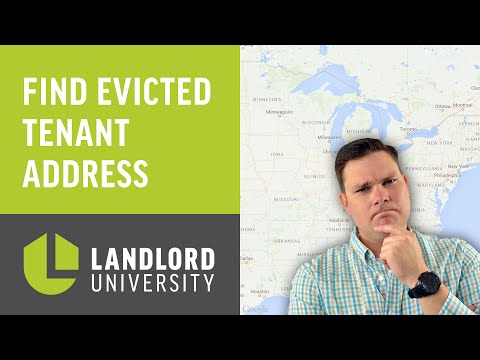 Evict A Tenant & Lose Track? How To Find An Evicted Tenant's Address | Landlord University