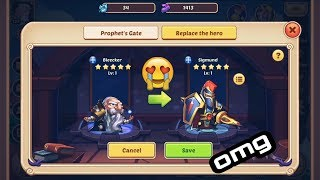 Idle Heroes - How to build mines, holy relics and what
