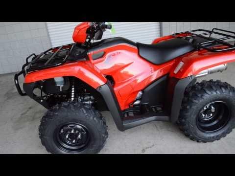 2014 Foreman TRX500FM1E Manual / Foot Shift 4x4 ATV - Honda of Chattanooga TN GA AL ATV Dealer