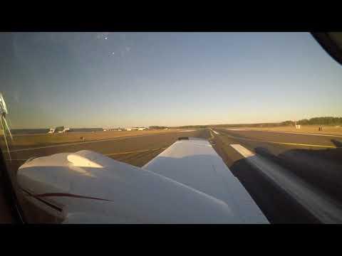 Landing at Raleigh Durham International (RDU) Runway Approach 32 with a Shadow