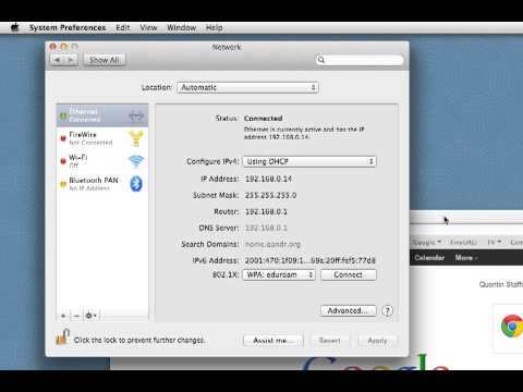 Using Multiple IP addresses on Mac OS X