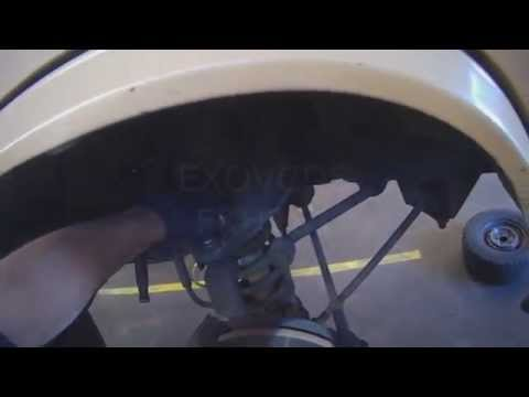 VW T3: Front Upper Control Arm Bushing replacement