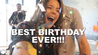 BEST BIRTHDAY EVER!!!! (I CRIED)