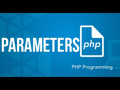 Functions: Defining Mandatory and Optional Parameters PHP