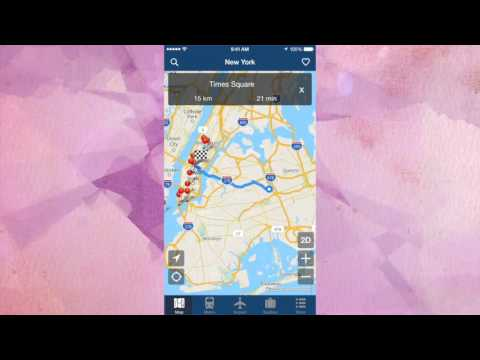 New York Offline Map - City Metro Airport