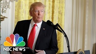 President Donald Trump And Australian PM Hold White House Press Conference | NBC News