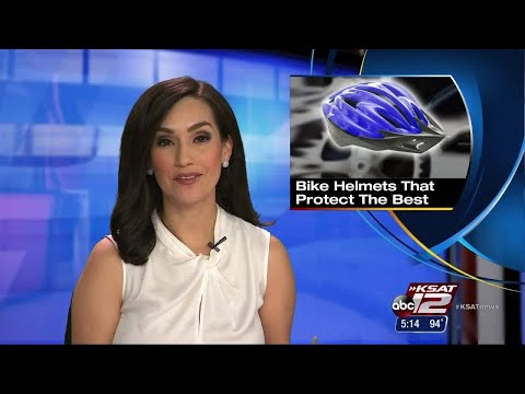 VIDEO: Kids' bike helmets put through crash tests