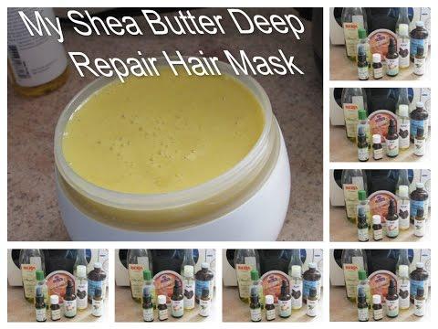 Shea Butter Deep Repair Hair Mask