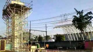 Viaduto De Mesquita-nilopolis Em Construção (09/07/2011)