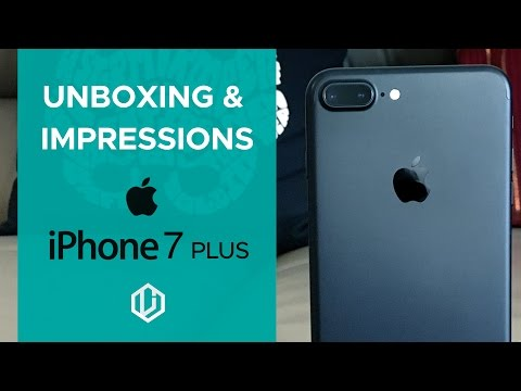 iPhone 7 Plus Unboxing and Impressions Dubai
