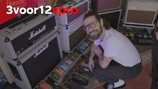 Biffy Clyro in guitar heaven backstage at Pinkpop Festival