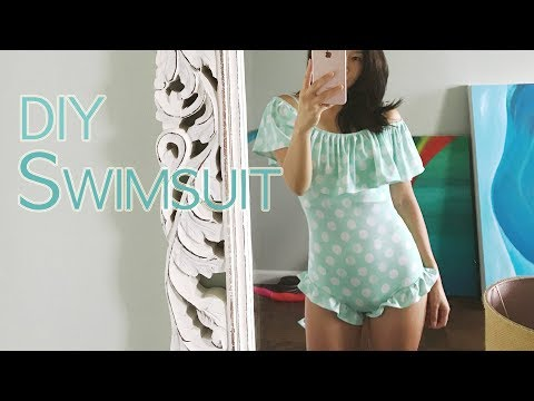 DIY Swimsuit [Getting Ready for the Blue Lagoon!]