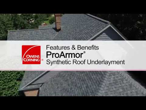 Roofing Product Guide: ProArmor® Synthetic Underlayment