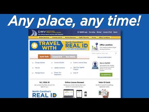 DMV Online Services Video 2