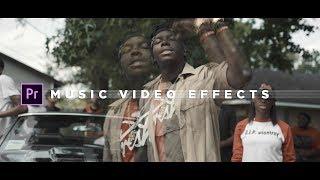 Music Video Effects Tutorial   Adobe Premiere Pro (NO PLUGINS)