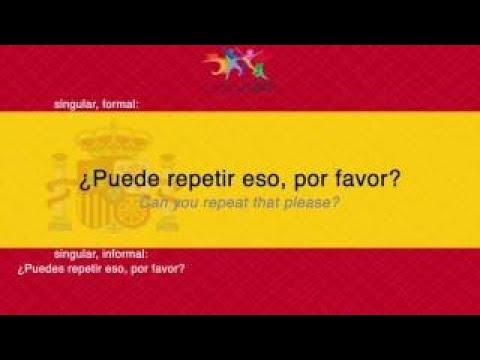 Learn Spanish: 450 Beginners Phrases! Lean to Speak Spanish #Part 3