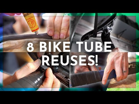 8 USES for OLD BIKE TUBES in 100 Seconds - Speedy Saturday with Triathlon Taren
