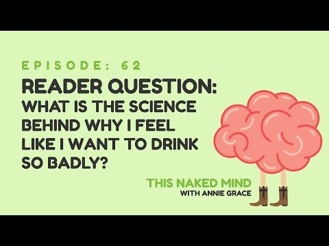 EP 62: Reader Question – What is the science behind why I feel like I want to drink so badly?