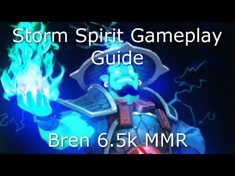 Dota 2 Storm Spirit Guide: 6.5k MMR Mid Lane Guide - Farming Guide, Winning mid