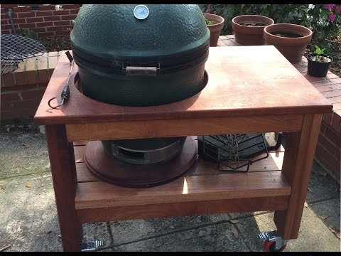 Building Big Green Egg Table