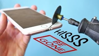 Easy iPhone 7 HissGate Fix