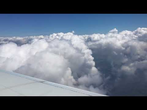 Flight From Pensacola, Miami, and Punta Cana (4K)