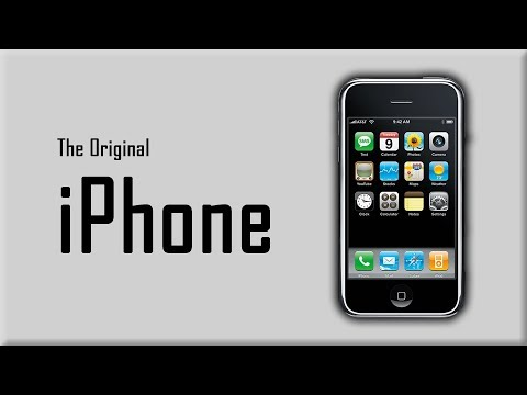 The Original iPhone - Changing an Industry