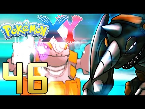 Rock Polish Rhyperior feat. Mega Absol - Pokémon X/Y WiFi Battle #46