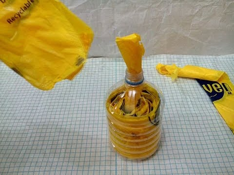 DIY# 41 Plastic Bag Dispenser Recycled / Reusing Plastic Bags