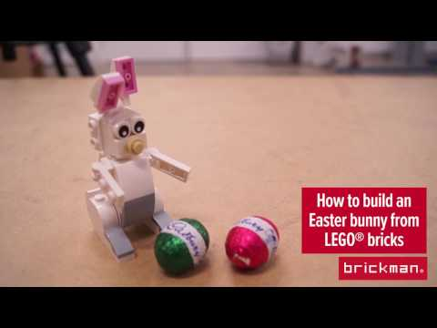 How to: Build an Easter Bunny from LEGO® bricks!