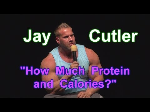 How Much Protein & Calories? - Jay Cutler Seminar at 2014 LA Fit Expo