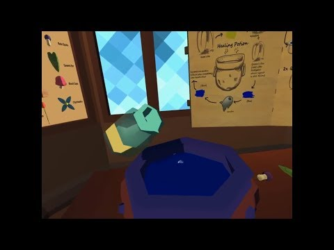 OrbusVR With Jinx 01 -- Alchemy, How To Make Potions