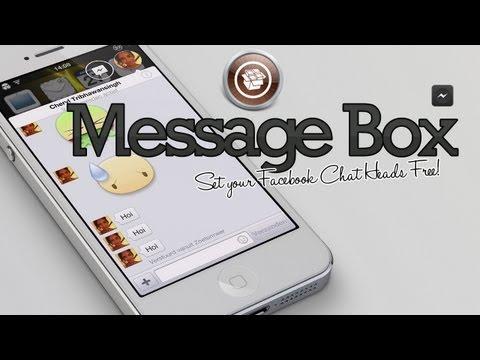 Message Box - Facebook Chat Heads Cydia Tweak iOS