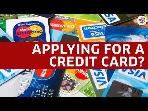 APPLYING FOR A NEW CREDIT CARD? (these are 5 things you need to keep in mind!)