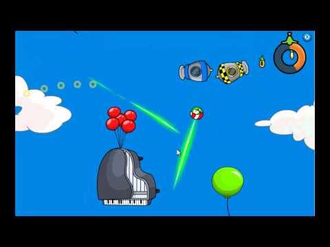 Club Penguin - Puffle Launch Blue Sky Level 10