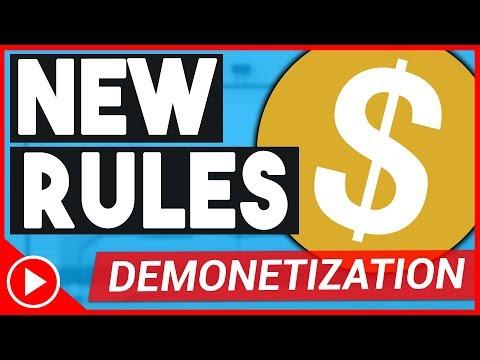 New Monetization Policy 2018 | MAJOR CHANGE On YouTube