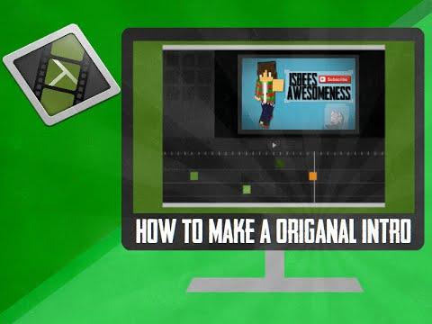 How to make a original intro using Camtasia