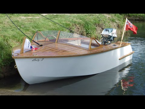 Lady S - The Build Project 2012 Wooden Runabout Boat Build