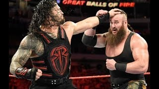Roman Reigns & Braun Strowman Will Team Up For Upcoming RAW Tag Match