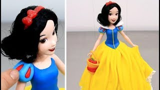 Princess SNOW WHITE Doll Cake | How To Decorate by Cakes StepbyStep