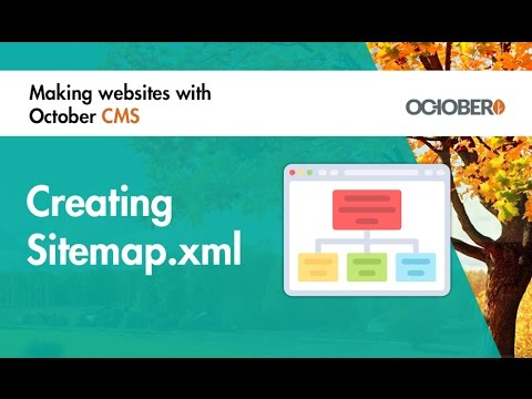Making Websites With October CMS - Part 38 - Creating Sitemap.xml