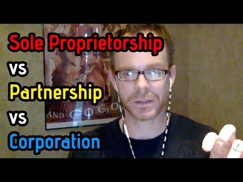 Should I File as Sole Proprietor, LLC or C Corporation?